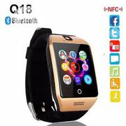 Q18 Android Smart Watch P With Sim Card Nfc And Bluetooth Connection | Smart Watches & Trackers for sale in Lagos State, Ikeja