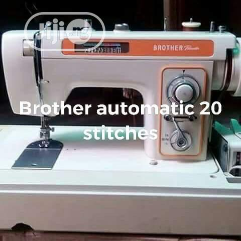 Brother Embroidery Machine (Manual Automatic)