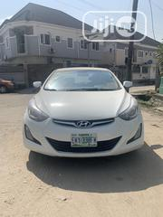 Hyundai Elantra 2012 Limited White | Cars for sale in Lagos State, Surulere