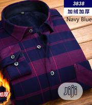 Quality Men Warm Long Sleeve Shirt | Clothing for sale in Rivers State, Obio-Akpor