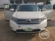 Toyota Highlander 2013 Limited 3.5L 2WD White | Cars for sale in Lagos State, Isolo