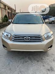 Toyota Highlander 4x4 2008 Gold | Cars for sale in Lagos State, Isolo