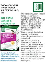 Kidney Cleanse And Function Tea | Vitamins & Supplements for sale in Lagos State, Ikeja