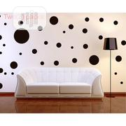 Burgundy Polka Dot Mix Wall Sticker | Home Accessories for sale in Lagos State, Lagos Island