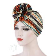 Colorful Flower Turban Hat Indian Headdress Cap | Clothing Accessories for sale in Lagos State, Ifako-Ijaiye