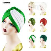 Fashionable Women Fold Turban Cap | Clothing Accessories for sale in Lagos State, Ifako-Ijaiye