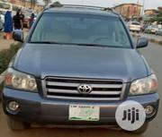 Toyota Highlander 2005 V6 4x4 Blue | Cars for sale in Lagos State, Isolo