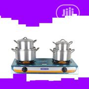 Master Chef Table Top Gas Cooker + 4 Set Pot | Kitchen Appliances for sale in Lagos State, Lagos Island