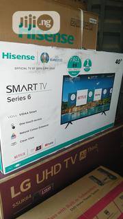 "Hissense 40"" Smart Netflix Television With Two Years Warranty. 