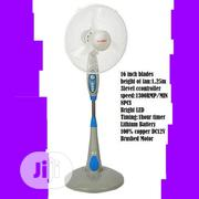 Sumec Rechargeable Fan 16 Inches- Silver   Home Appliances for sale in Lagos State, Lagos Island