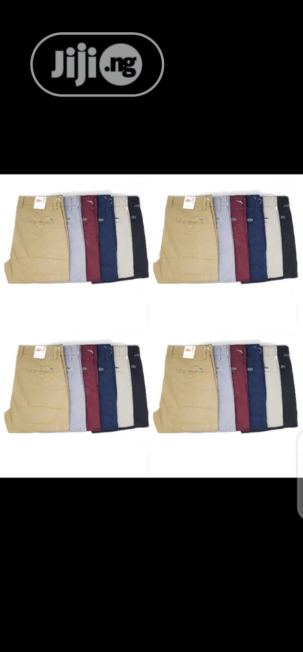 Lacoste Chinos Trousers Original One