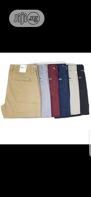 Lacoste Chinos Trousers Original Quality | Clothing for sale in Lagos State, Surulere