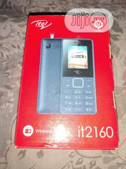 New Itel it2160 32 GB Blue   Mobile Phones for sale in Lagos State, Mushin