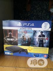 PROMO!!! PS4 Slim + 3 Games Bundle Offer | Video Games for sale in Lagos State, Ikeja