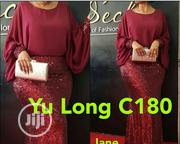 Yu Long Female Dinner Gown in Wine | Clothing for sale in Lagos State, Ikeja