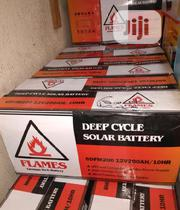 Flames 12V 200ah Deep Cycle Battery | Solar Energy for sale in Lagos State, Apapa