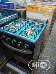 New One Iskyrun All 4 Burners Gas With Oven 2years Warranty | Restaurant & Catering Equipment for sale in Lagos State, Ojo