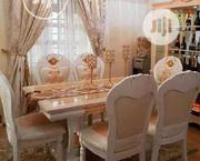 A Brand New Royal Marble Dining Table By-6 | Furniture for sale in Lagos State, Surulere