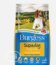 Burgess Dog Food Puppy Adult Dogs Cruchy Dry Food Top Quality | Pet's Accessories for sale in Lagos State, Ibeju