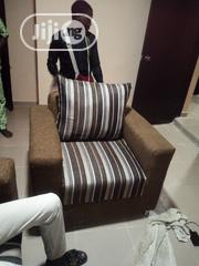 Complete Set of Chair Contain 1, 3sitters 2single 1double | Furniture for sale in Oyo State, Ibadan