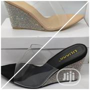 Transparent Cover Wedge Slippers | Shoes for sale in Lagos State, Ikoyi