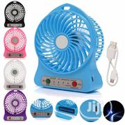 Mini Portable Handfan USB Rechargeable Battery Handheld Fan | Electrical Equipments for sale in Lagos State, Ikeja