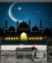 8D Mosque By Moonlight Wall Mural   Home Accessories for sale in Lagos State, Ikeja