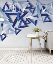 8D Elegant Geometric Design Wall Mural for Homes Offices and Hotels | Home Accessories for sale in Lagos State, Ikeja