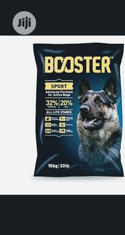 Booster Dog Food Puppy Adult Dogs Cruchy Dry Food Top Quality | Pet's Accessories for sale in Lagos State, Lekki Phase 2