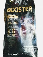 Booster Dog Food Puppy Adult Dogs Cruchy Dry Food Top Quality | Pet's Accessories for sale in Lagos State, Mushin