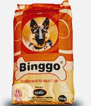 Binggo Dog Food Puppy Adult Dogs Cruchy Dry Food Top Quality | Pet's Accessories for sale in Lagos State, Orile