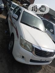 Toyota Hilux 2014 SR5 4x4 White | Cars for sale in Lagos State, Apapa