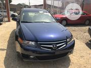 Acura TSX 2007 Automatic Blue | Cars for sale in Lagos State, Ikeja
