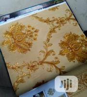 Quality Gold Flowered Wallpaper   Home Accessories for sale in Lagos State, Lagos Mainland