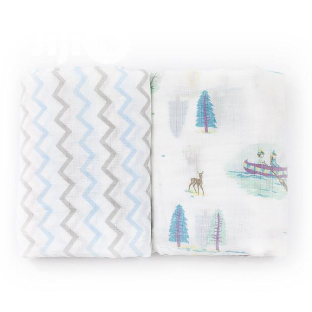 Daisy Joseph 2 Pack Organic Receiving Blankets
