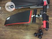 Nassau Tummy Trimmer Sir-Up Bench+ 3kg Dumbbell+Rope Imported. | Sports Equipment for sale in Rivers State, Port-Harcourt