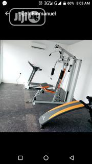 Multi Purpose Station Gym With Sit-Up Bench | Sports Equipment for sale in Lagos State, Surulere