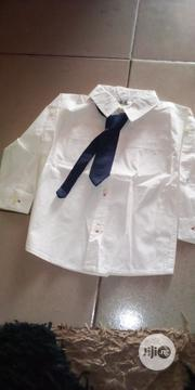 Boys Shirt With Tie | Children's Clothing for sale in Lagos State, Ikorodu