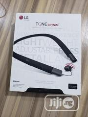 LG Tone Infinim Bluetooth Headset | Accessories for Mobile Phones & Tablets for sale in Lagos State, Ikorodu