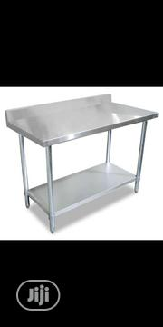 5ft Working Table With Bar | Restaurant & Catering Equipment for sale in Lagos State, Ojo