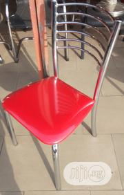 Unquie Pure Stainless Restaurant or Dining Table Chair Brand New   Furniture for sale in Lagos State, Ajah