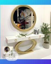 Console With Round Mirror | Home Accessories for sale in Lagos State, Ajah