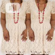 Neatly And Responsibly Used Long Lace Top | Clothing for sale in Lagos State, Ojodu