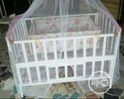 Two-in-one Baby Bed With Net And Side Drawers Available!!! | Children's Furniture for sale in Lagos State, Ojo