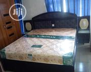 Complete Set of Foreign Leather Bed | Furniture for sale in Lagos State, Ojo