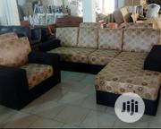 Complete Set Of L-shaped Chair With Fabric. | Furniture for sale in Lagos State, Ojo