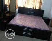 Quality Complete Set of Wooden Bed 6by6. | Furniture for sale in Lagos State, Ojo
