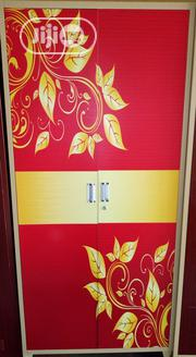 Well Designed Metal 2 Doors Wardrobe With Drawers Inside. | Furniture for sale in Lagos State, Ojo