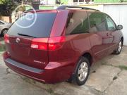 Toyota Sienna 2004 LE FWD (3.3L V6 5A) Red | Cars for sale in Lagos State, Maryland