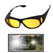 Anti Glare Night Vision Glasses HD Polarized Fit Over Wrap Glasses | Clothing Accessories for sale in Lagos State, Mushin